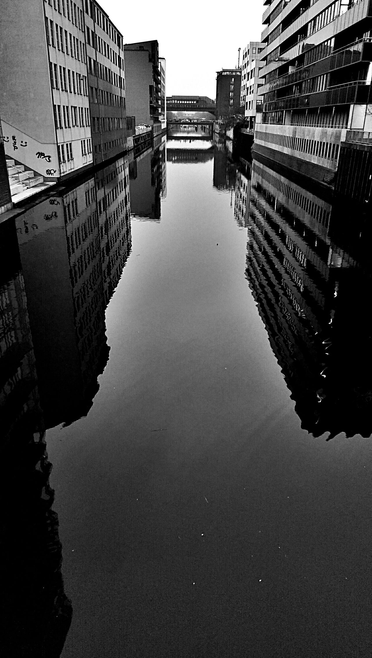 Water Reflections Blackandwhite Architecture