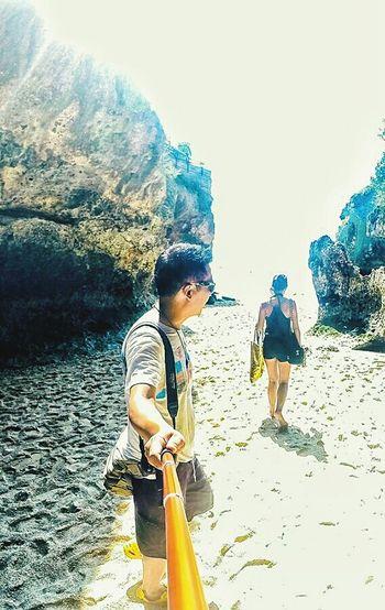 Gopro Beach Bali Suluban Bluepoint Ismayani Selfie Ibnuprabuali Uluwatu Bluepointbeachbali