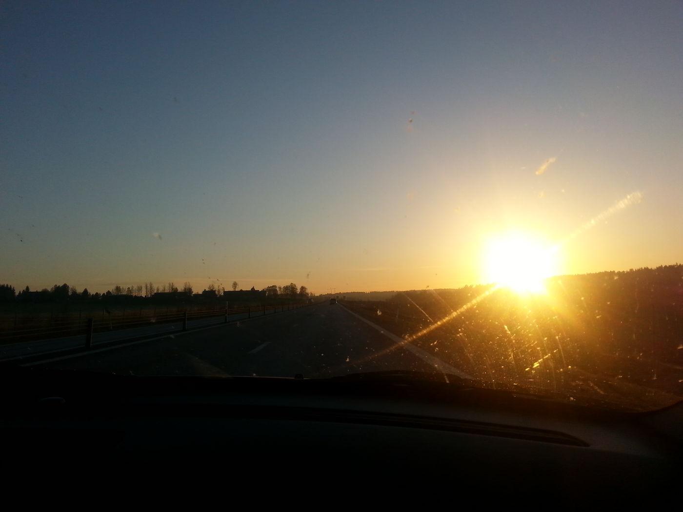 God morning Enjoying The Sun