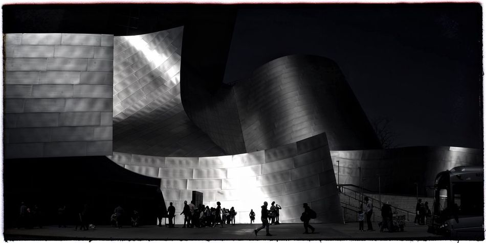 Disney musical hall Architecture EyeEmNewHere Blackandwhite Streetphotography