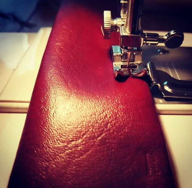 Work in progress.... It is going to be a guitar strap! Sewing DIY Nähen Sewed Genäht Guitarstrap Gitarre Handgemacht Handmade Selfmade Selbstgemacht Lovetosew Love2sew