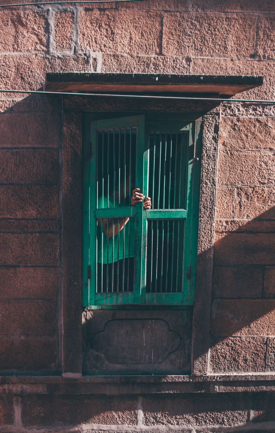 People offer you windows into different worlds. Window People Tones Rajasthan Hues
