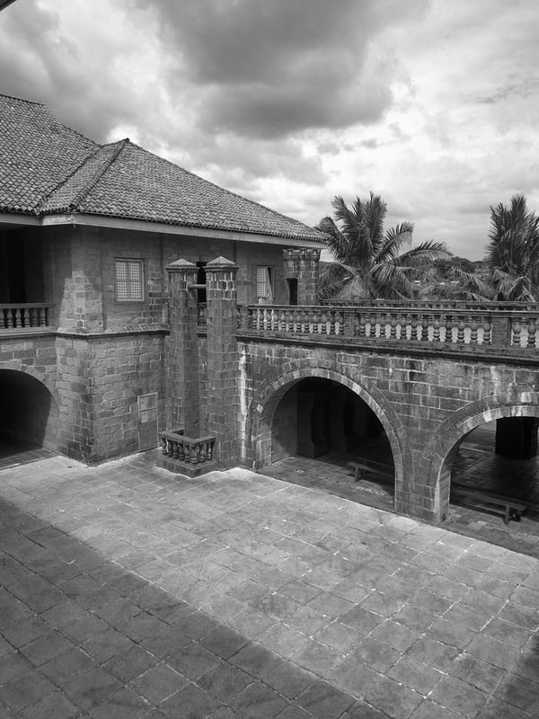 Bridge - Man Made Structure Sky Architecture Outdoors Built Structure Connection Day City No People Eyeem Philippines Heritage Site Travelphotography Lascasasfilipinasdeacuzar Bataan Philippines History Stone Travel Destinations