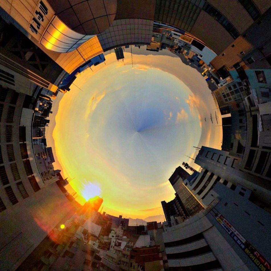 Tinyplanets Sunrise Sunset #sun #clouds #skylovers #sky #nature #beautifulinnature #naturalbeauty #photography #landscape Morning