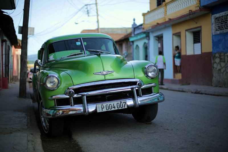 Street Photography Car Oldsmobile Cuba Trinidad travel Travel Photography Parked Roadside Been There, Done That
