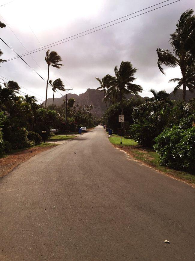 Oahu, Hawaii Waimanalo Streetphotography