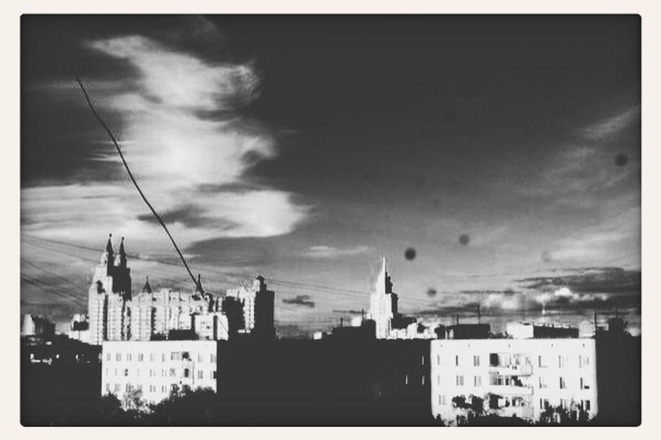 SZAO Moscow Bw Photography Black & White