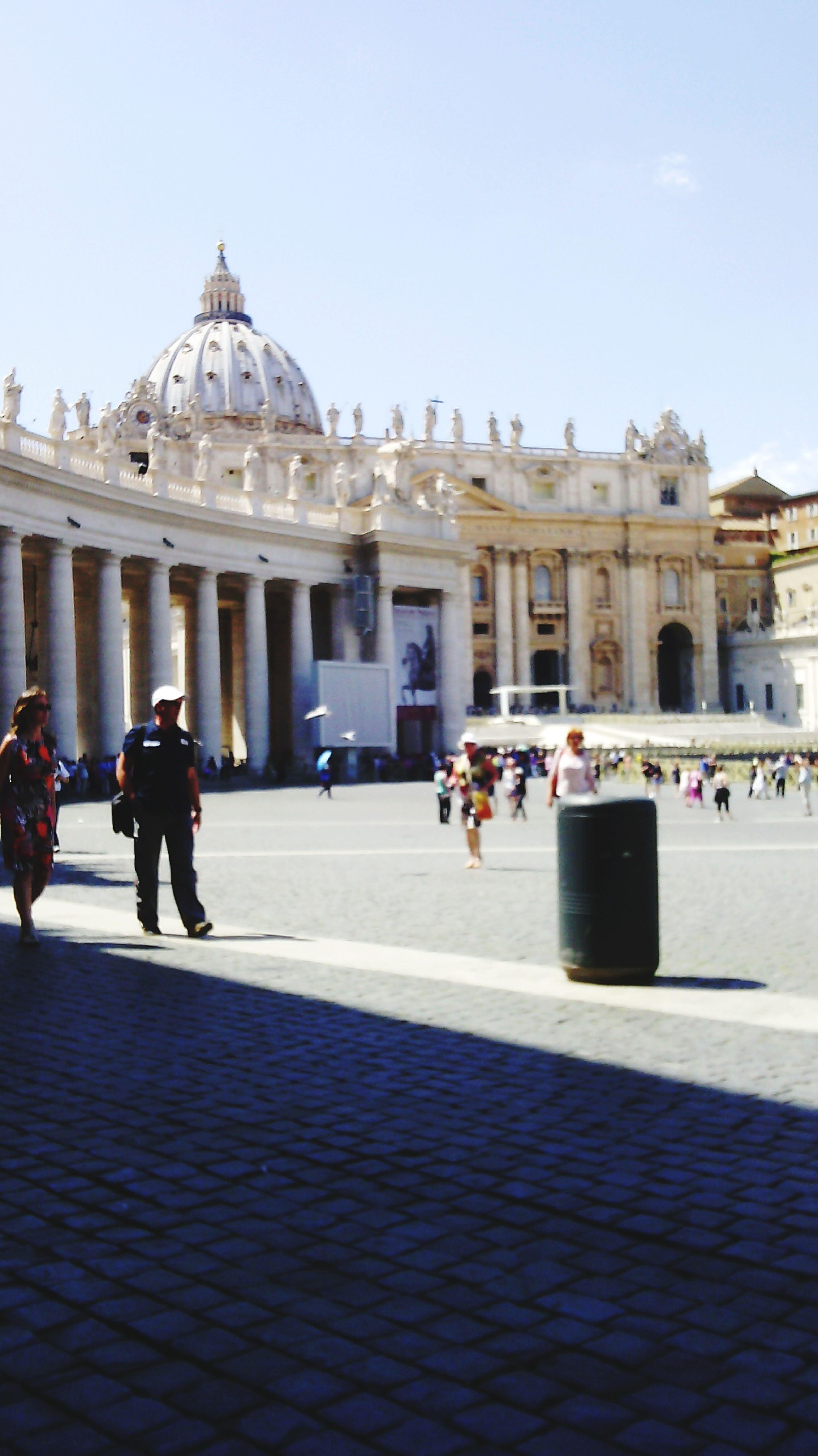 Vatican in Italy ;)