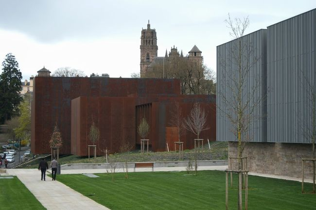 Musee Soulages Rodez Streetphotography Street Photography Street Cityscapes Architecture Architecture_collection Architecturelovers Architectureporn Archilovers Cathédrale De Rodez Cathedrale Cathedral Rodez Aveyron France The Architect - 2016 EyeEm Awards Urban Geometry
