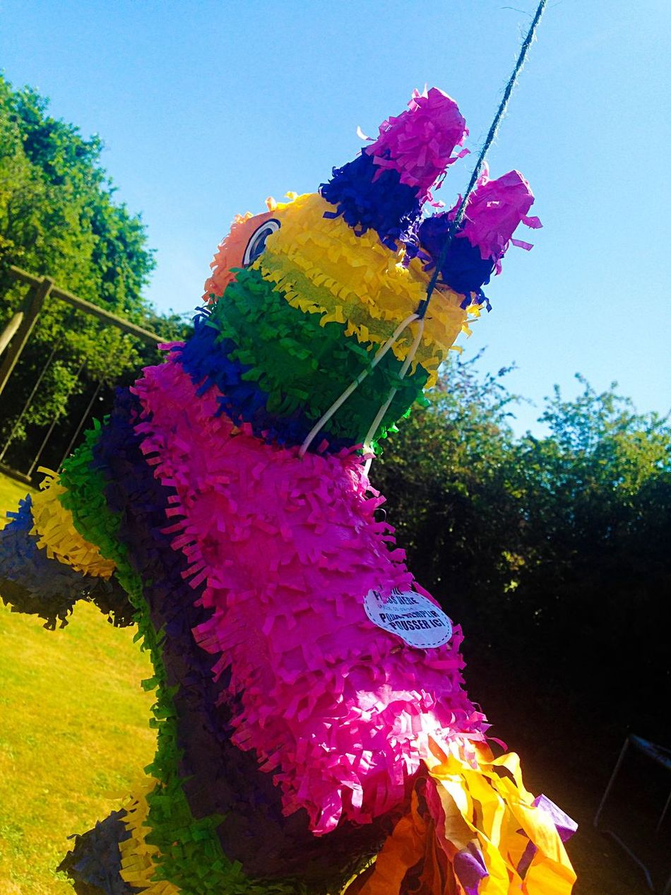 Pink Color Sky Outdoors Multi Colored No People Piñata Fun Game Colors Colorful Day Bright Photography EyeEmNewHere