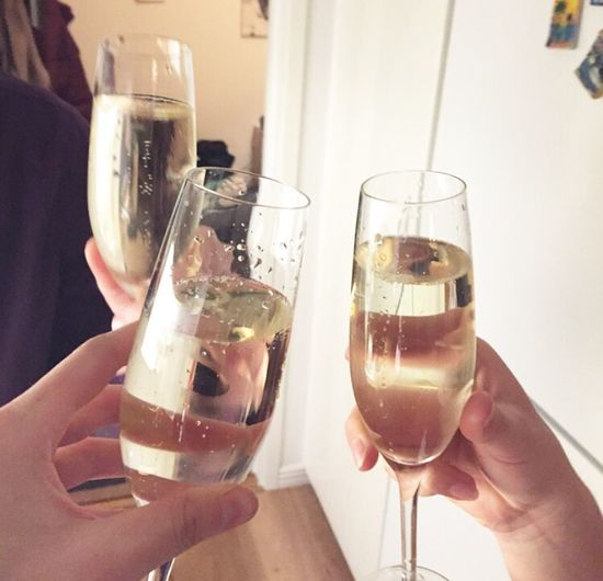 Cheers for a new year Champagne 2014 2015  Drink NewYear Elegant Noedit NoEditNoFilter