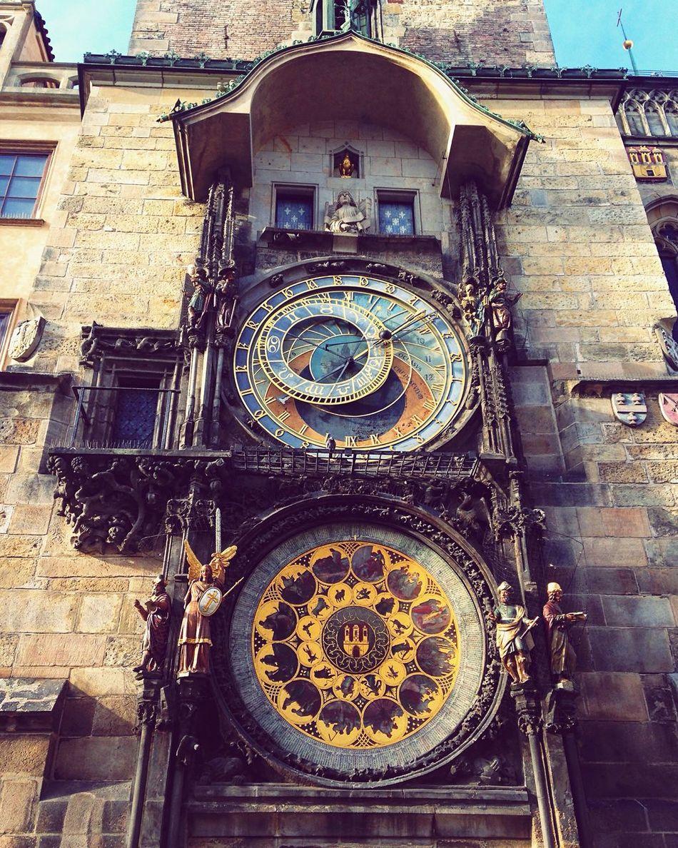 Pražký Orloj Praga♥ Čech Republic Evropa