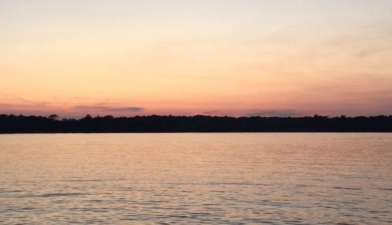 Sunset on the lake. Sunset Lake Life Wisconsin WisconsinSunset United States