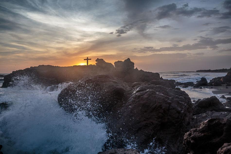 Beautiful stock photos of cross, Beauty In Nature, Cloud - Sky, Cross, Idyllic