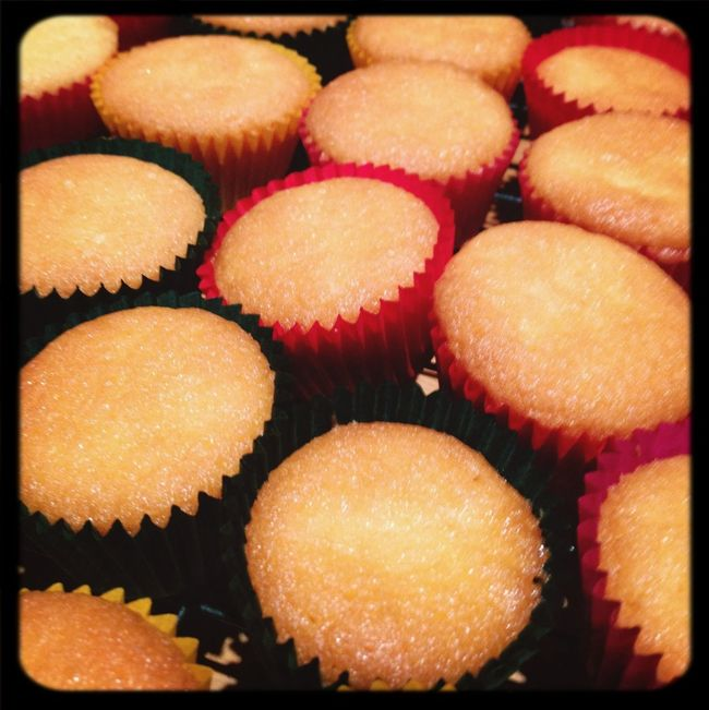 My mini cupcake army Mini Cupcake Yummy Vanilla First Eyeem Photo