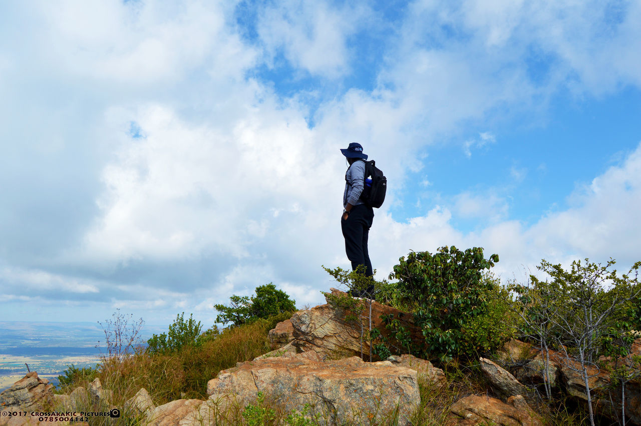 African Sky Cloud - Sky Hiking Low Angle View Magalies Mountains Magaliesburg Mountain Peak Mountain View Outdoors Rocks ShelterRock Sky