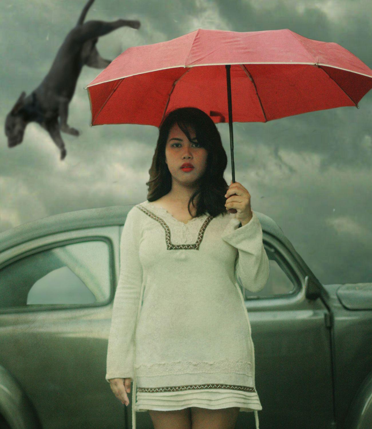 the fifth stage of grief Depression Movingon MoveOn Mentalillness Mentalhealth  Depressive Shield Umbrella Red Umbrella Redumbrella Standing BYOPaper! The Portraitist - 2017 EyeEm Awards Surrealist Art Conceptual Photography  Depression