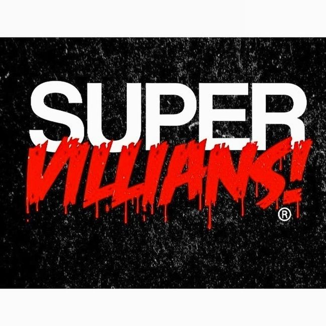 SuperVillians! limited Edition Collection. Instagram: @TheSuperVillians