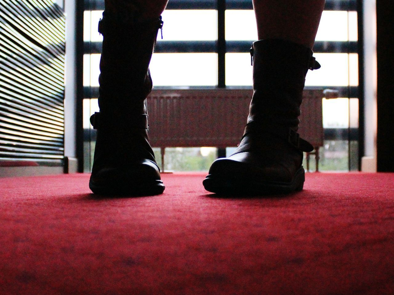 Indoors  Low Section Adult Adults Only Human Body Part Red Carpet Event One Person Close-up Day Footfetishnation Girlfriends Feet Girlfriend Girlswithtattoos Girls Feet Feets Interiorviews Indoors  Home Interior Interior Design Boots DirtyBoots Martens Dr. Martens Redboots Fashion Stories