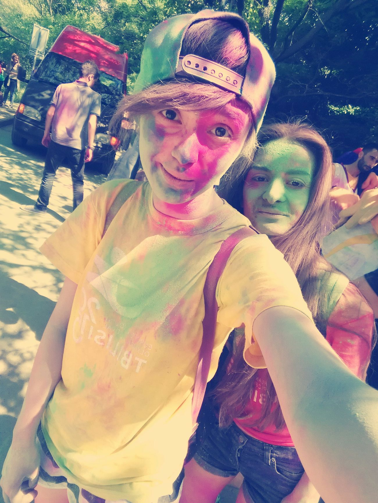 Tbilisi2015 Colorfestival Friend's Happy :) Colored