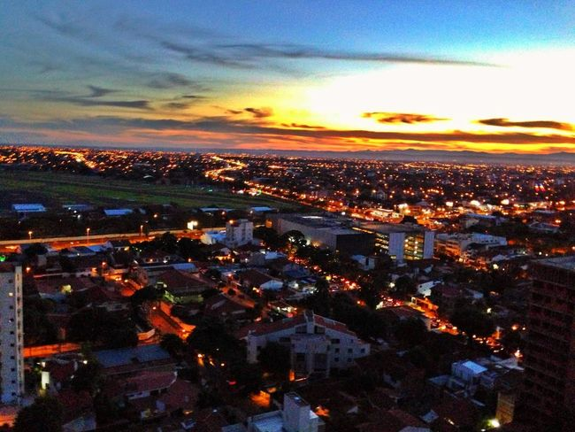 Sunset Airport Southamerica City