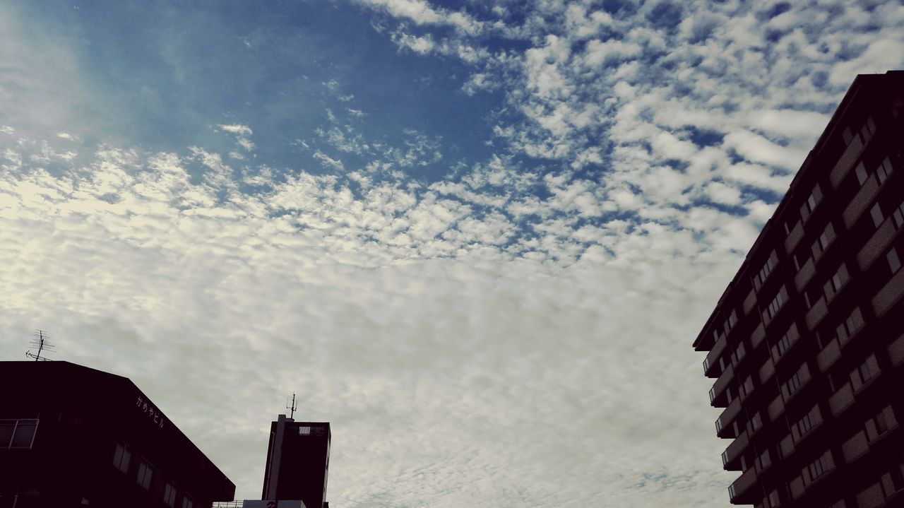architecture, building exterior, built structure, low angle view, sky, no people, cloud - sky, day, outdoors, city