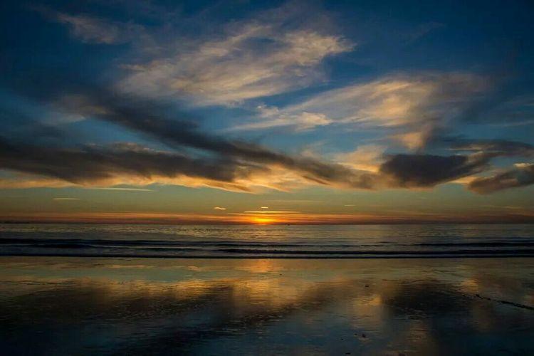 Please don't go away... Enjoying The Sun Sea Sunset