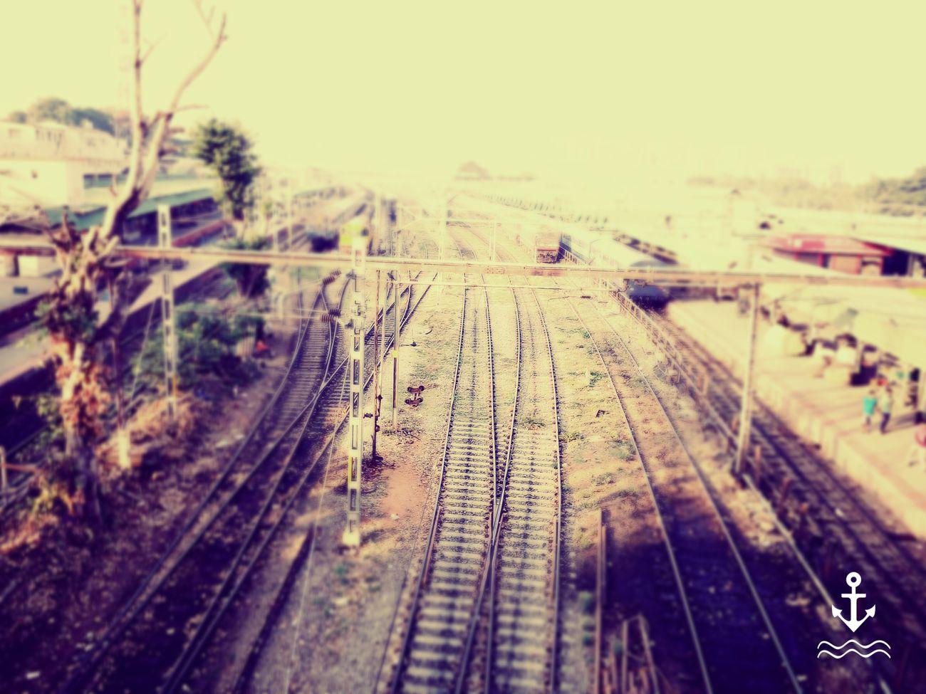 Railroad Track Transportation Outdoors Day Rail Transportation No People Train Train Station Train Tracks EyeEm EyeEm Best Shots EyeEm Gallery