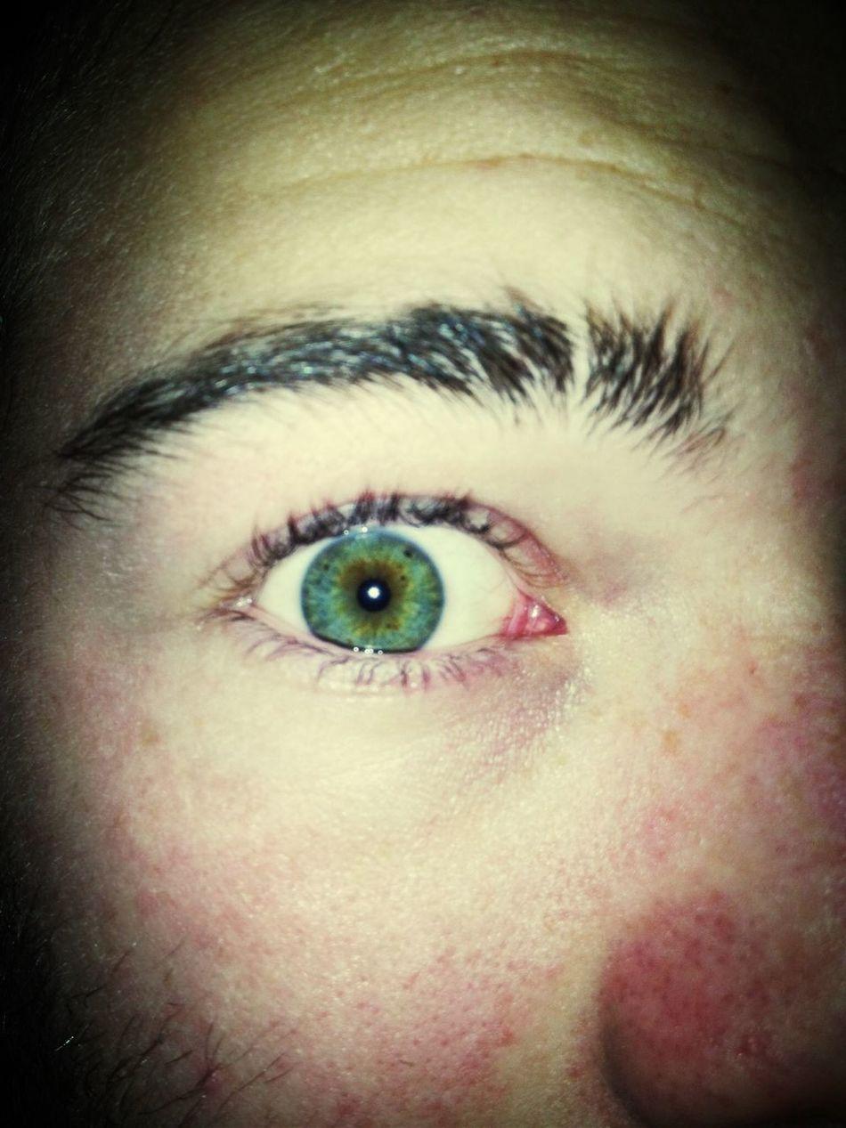 Mi ojo :B Eyes That's Me Check This Out Taking Photos