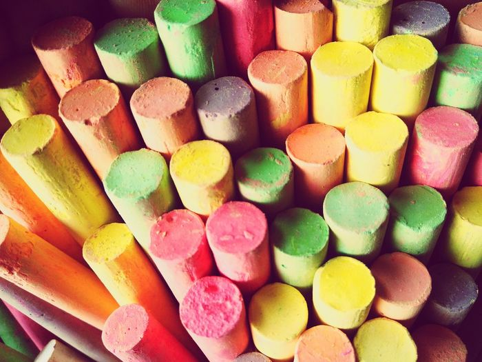 Chalk Chalk Board Blackboard  Yellow Pink School Techer Chalk Drawing Texture Blackboard  Day Backgrounds Education Variation Sweet Food Beauty Pastel Colored Candy Choice No People Indoors  Close-up Food