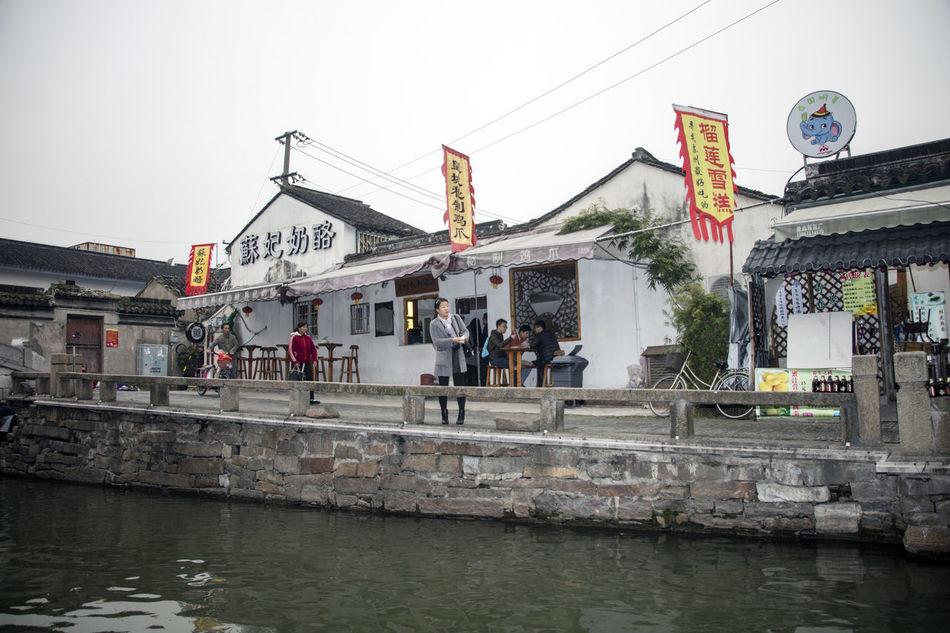 Architecture Building Exterior Built Structure Canal Canon EOS 5DS China China Beauty China Culture China Photos Ping Jiang Pingjiang PIngjiang Road Suzhou Suzhou China SUZHOU PINGJIANG ST Suzhou River Suzhou, China Tourism Travel Destinations Venice Of The East Waiting For A Boat Water