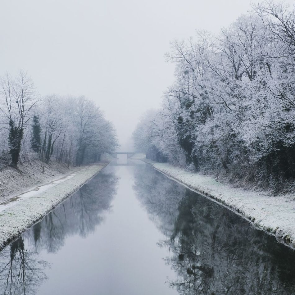 Frost Canal Winter