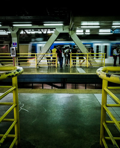City Commuter Metro Transit Public Transportation Real People Standing Train Station Urban The Week On EyeEm
