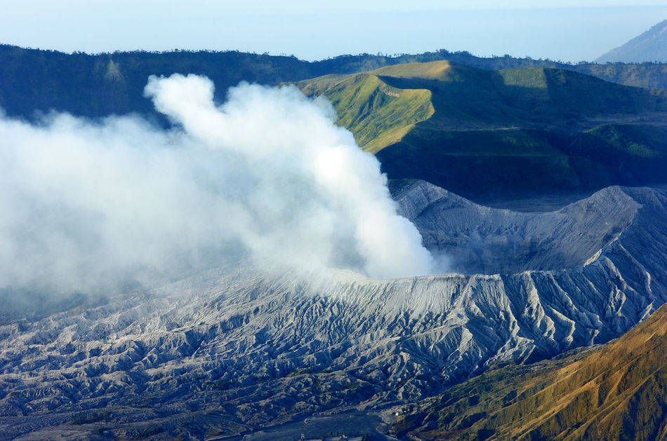 Beautiful stock photos of volcano, Active Volcano, Beauty In Nature, Clear Sky, Day