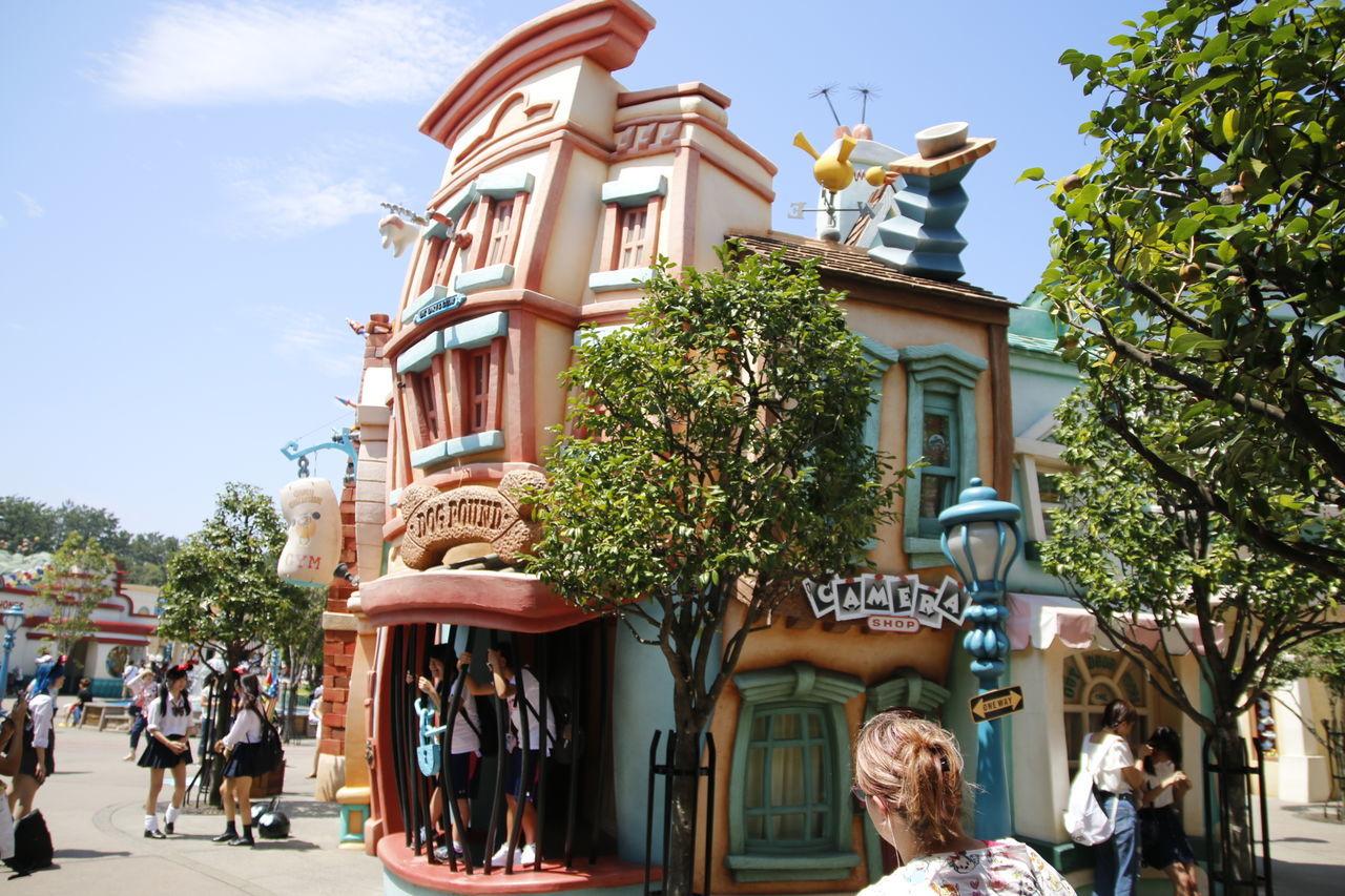 Disneyland Tokyo Resort Disneytokyo Disneylandresort 東京ディズニーランド 東京ディズニーランド (tokyo Disneyland) Disney Disneyland Tokyo,Japan Tokyo Disney Land Day Outdoors City Tree