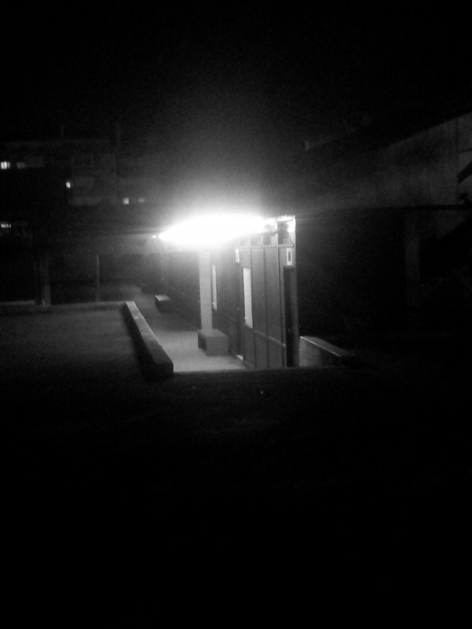 illuminated, night, lighting equipment, dark, no people, street light, outdoors, architecture, nature
