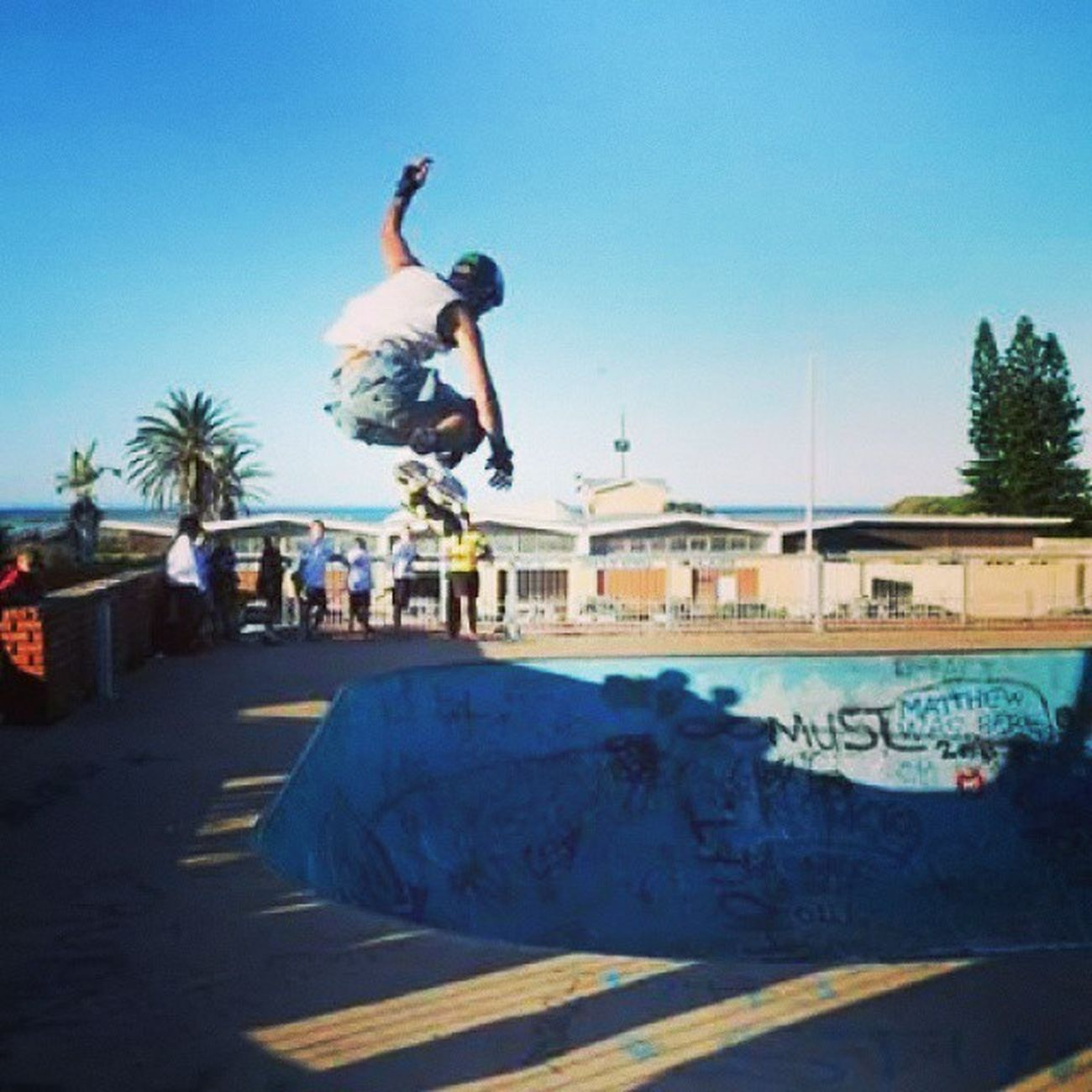 Missing Port Elizabeth. ♥ Portelizabeth Southafrica Happytimes Beach Ocean Sea Clouds Memorablemoments April 2014 Thingsilove Thingsimiss ♥♥♥ Skatepark Rollerblades Skating Bowls Streetart
