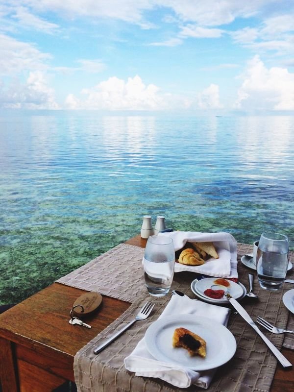 Breakfast by the waters Clear Water Clear Waters Water Water_collection Waterscape Breakfast Breakfast ♥ Breakfast Time BreakfastTime  Breakfast Time! Holiday Holiday POV Holidays Relaxing Relaxing Moments Relaxing Time Maldives Maldivesphotography Maldives Resorts