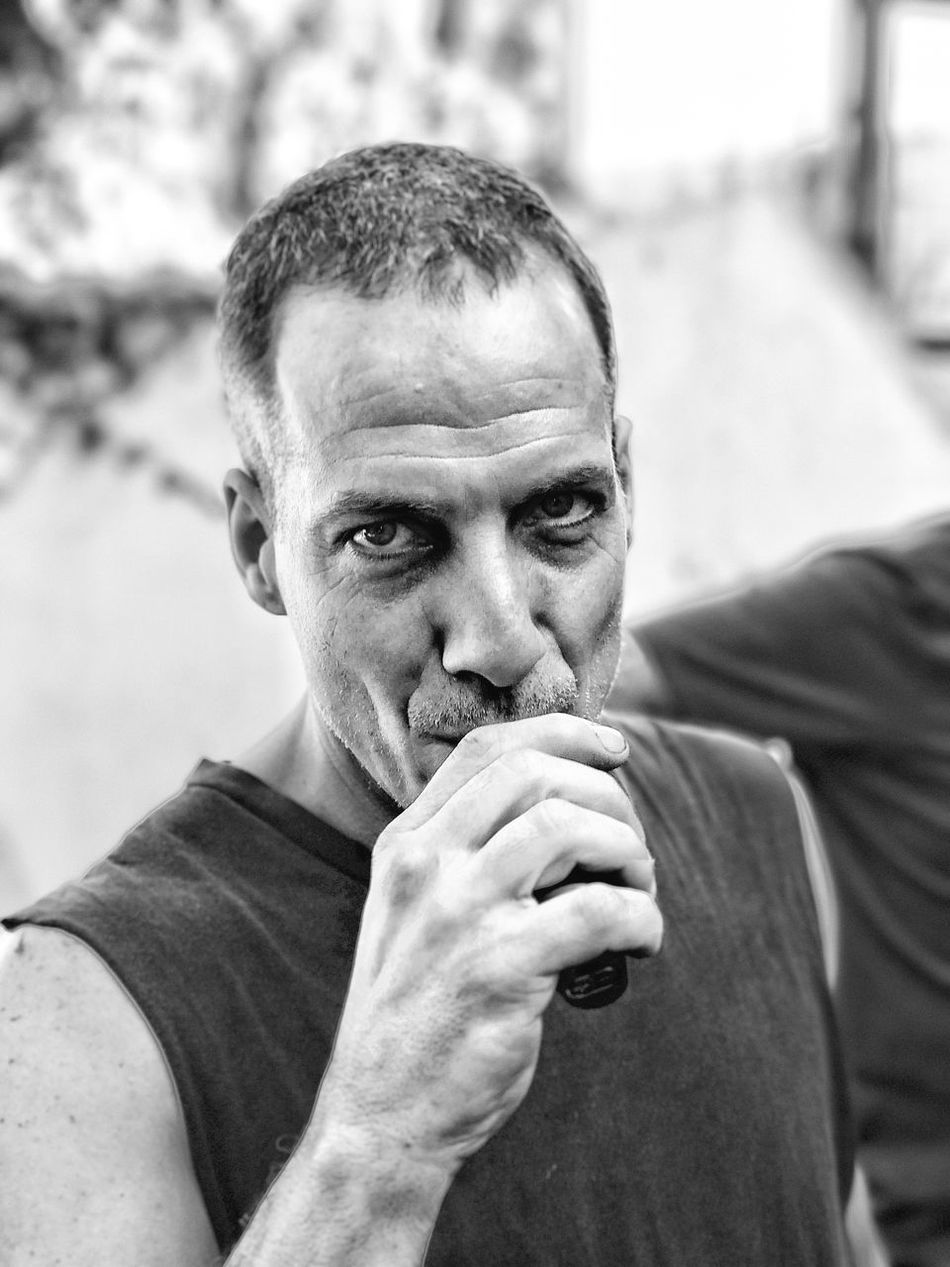 My very best friend Hugo Portrait VapeLife Vapecommunity Vapersofamerica People Close-up One Man Only Outdoors Day Leisure Activity Smoke Smoke Smokers Portrait Of A Friend Human Face Black And White Black & White Blackandwhite Blsckandwhite Black And White Photography