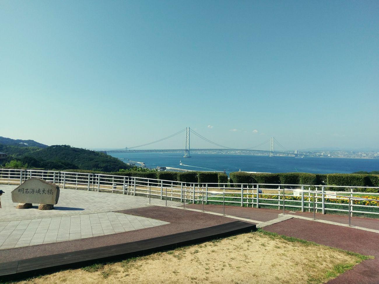 明石海峡大橋 淡路ハイウェイオアシス 海