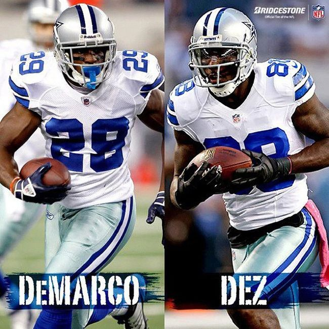 Can't wait to see my other Double D's!!! lol DeMarcoMurray DezBryant HowBoutThemCowboys !!! GoDallas !!!