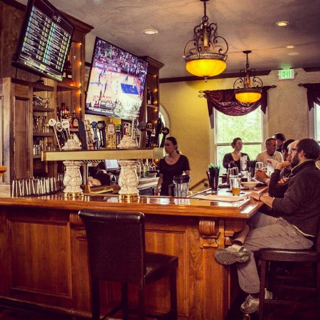 Granitetaphouse Ashland Oregon BigScreen beer ontap