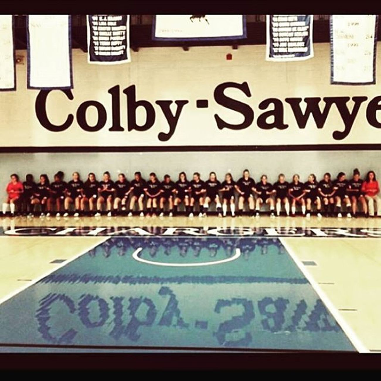 Throwback to 2 years ago pre-season when the whole team did wall sits for God knows how long Letsgo Cscws Soccerpreseason
