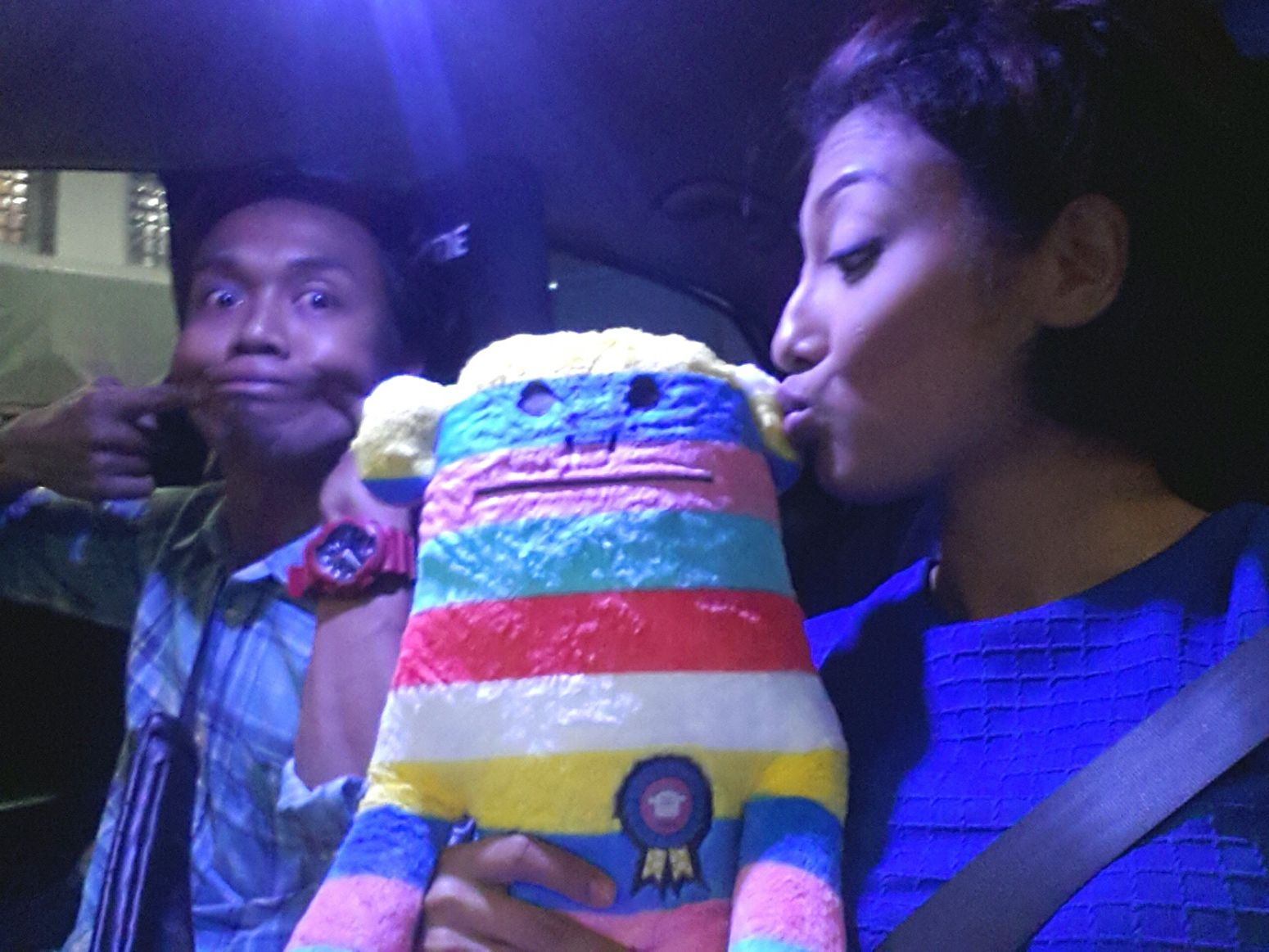 Joey Meets Starla Rainbow Monkey Love