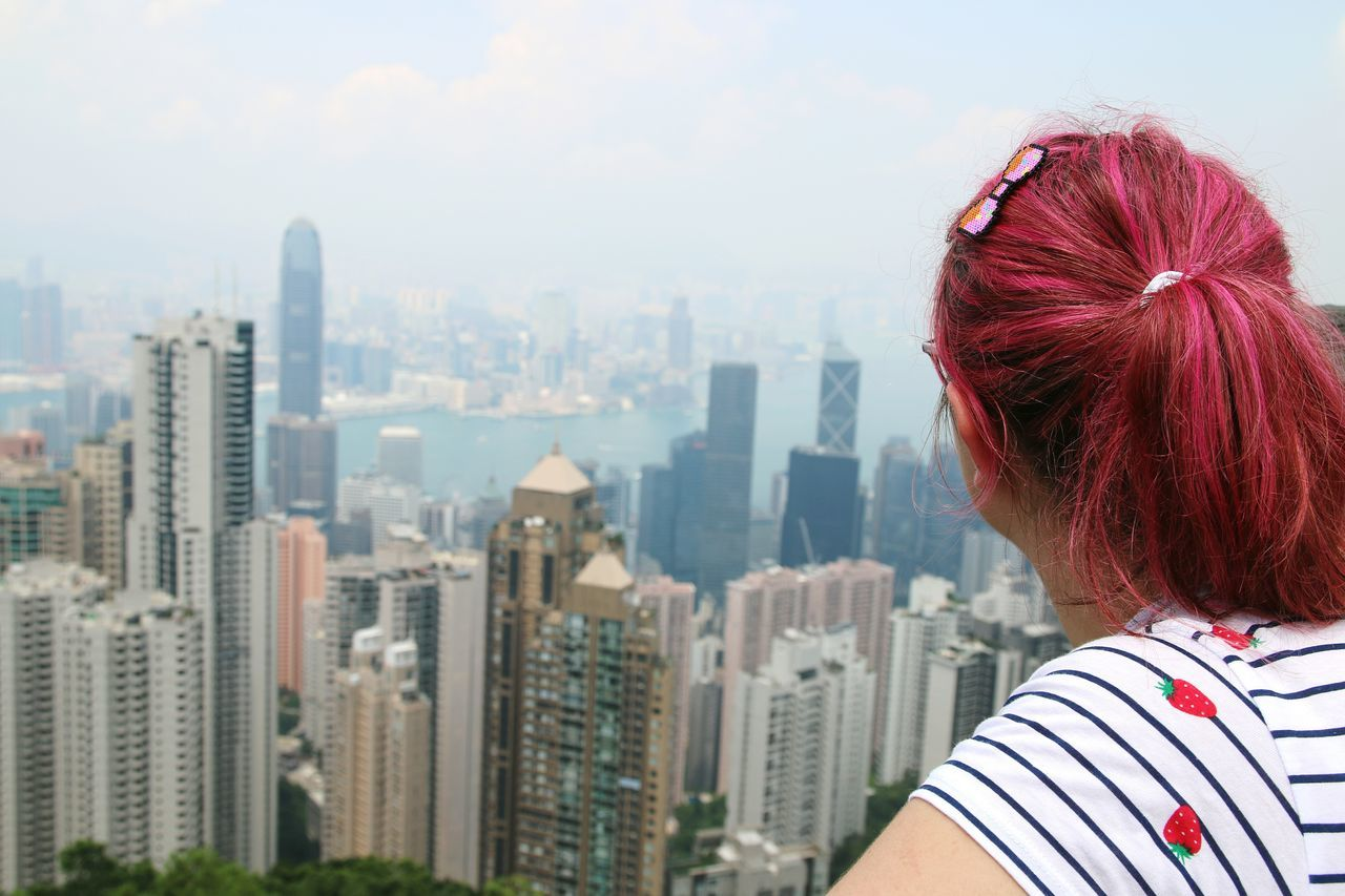 Cityscape City Skyscraper Pink Hair ; Don't Careee.  HongKong Travel Destinations Hongkong Photos Hongkongcity Being A Tourist. 香港 Pinkhair Pink Hair Cherry Hair Pink Hair Dont Care  Skycrapper Pink Hair♡ Skyterrace428 Hong Kong Skyscraper Hong Kong Building Hong Kong City Pink Hair Dont Care  Pink Hair ; Don't Careee.  Skycrapercity Victoria Peak, Hongkong Architecture_collection