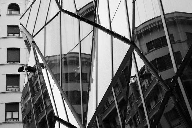 Reflections of Bilbao Bilbao Blackandwhite Monochrome Architecture The Architect - 2016 EyeEm Awards