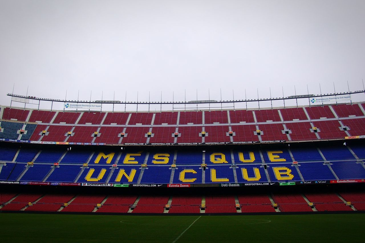 Football Stadium Football Football Life Football Club Masqueunclub Barcelona Campnou Blaugrana On The Pitch From Where I Stand Mypointofview Mesqueunclub