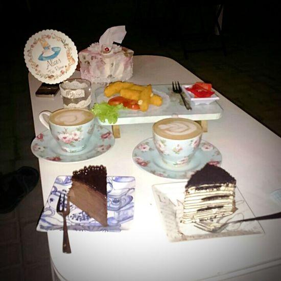 Oreo cake, capuccino cake and chocolate latte Food Porn Awards The Foodie - 2015 EyeEm Awards Hanging Out Enjoying Life Eating