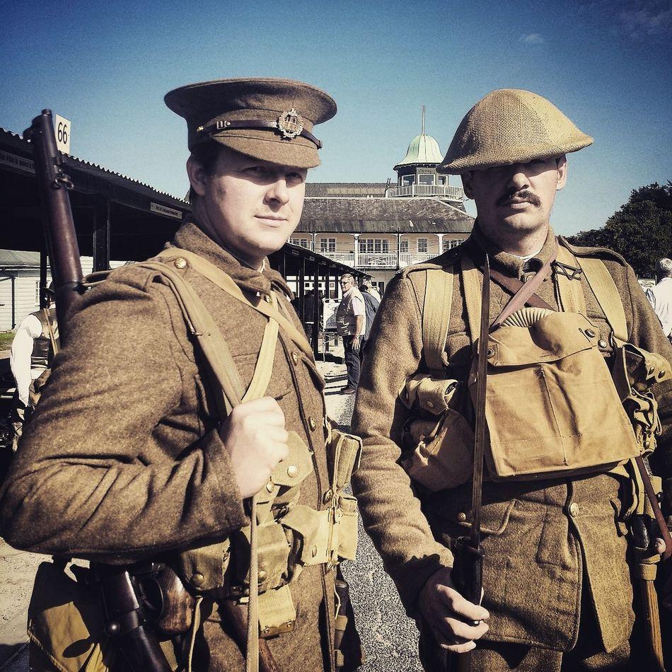 Army Army Reenactors Brooklandsmuseum Reenactors Vintage World War 1 Ww1 WW1 Centenary WW1 Soldiers