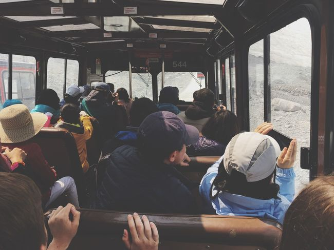 EyeEm Selects Real People Transportation Mode Of Transport Public Transportation Train - Vehicle Lifestyles Nature Glaicer Ice Travel